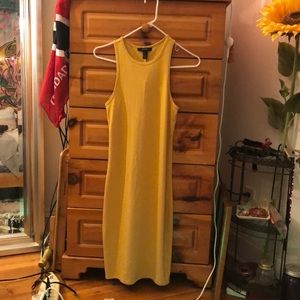 🌻Forever 21 Mustard Yellow Bodycon Dress🌻
